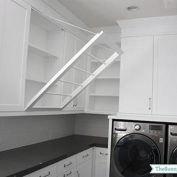 Clothes Drying Rack, Transitional, laundry room, Sunny Side Up