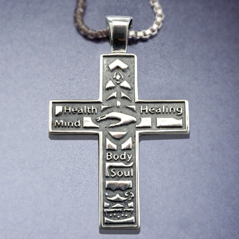 Parish Nurse Cross Necklace ~ Hint, hint! Lovely Christmas present ~
