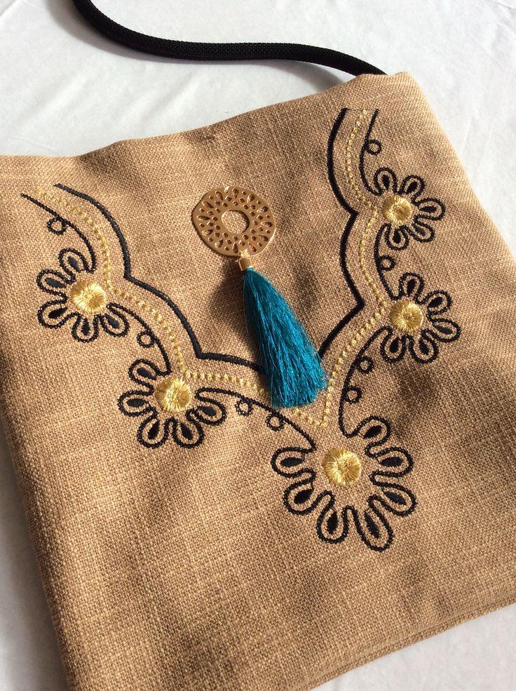 Handmade bag Christina Malle... Tagari
