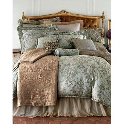 Best Bedding Comforter Sets Images On Pinterest Comforter - Blue and brown damask comforter