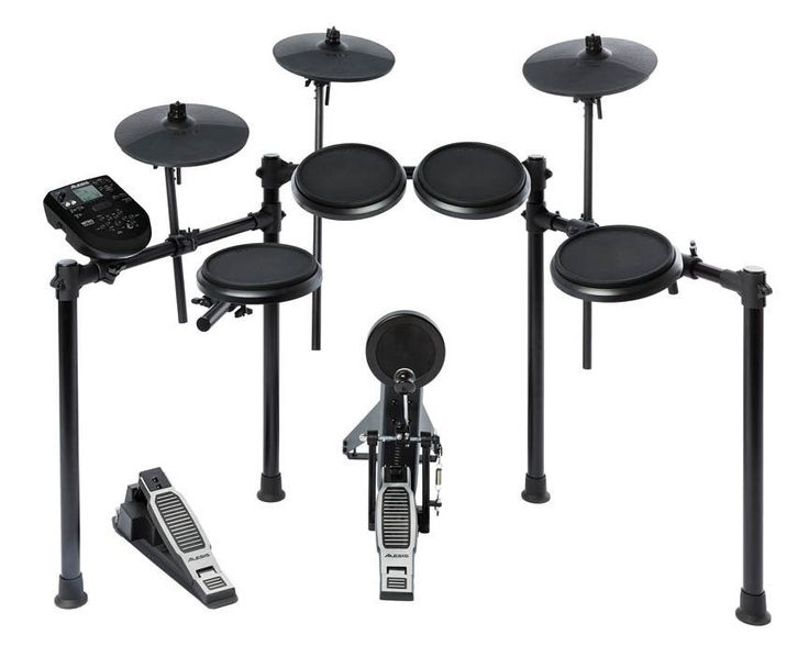 It features three dynamic 8″ tom pads – a 8″ dual-zone snare drum for great feel and natural response, plus a kick drum pad with pedal. The Nitro module is filled with sounds – and surprises. The backlit LCD screen makes navigation a breeze. | eBay!
