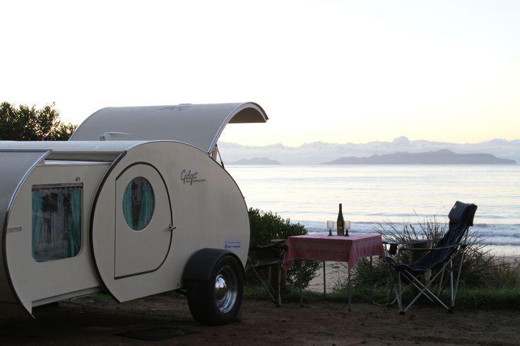 gidget teardrop campers   Gidget Retro Teardrop Camper goes to Freycinet National Park, Tasmania ...
