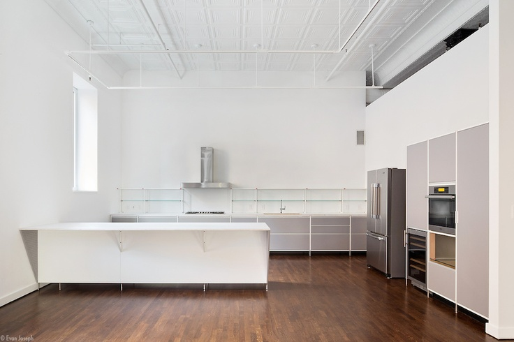 Meccanica Kitchen by Demode | engineered by Valcucine in a NY Loft