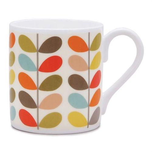 Multistem Mug by Orla Kiely bone china