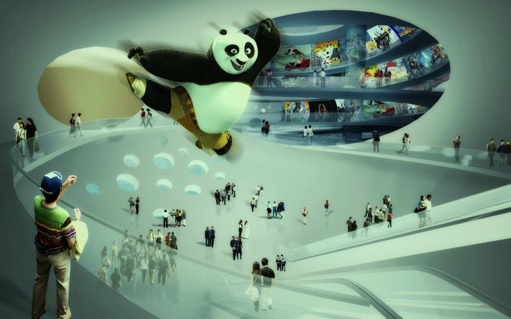MVRDV win competition for China Comic and Animation Museum