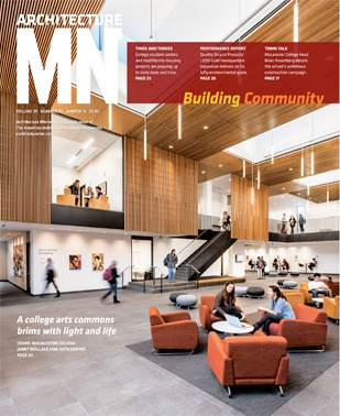 Architecture MN January February 2013 Macalester College Janet Wallace Fine Arts Center