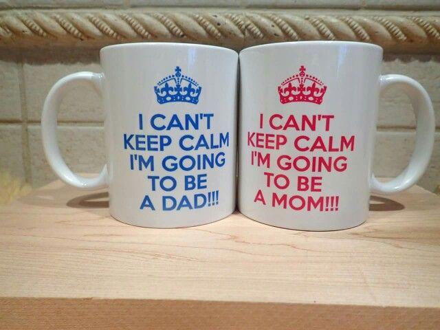 Parents to be pair mug