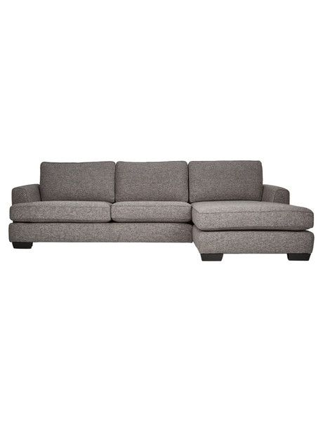 Create a sophisticated look in your living area with the Max 2.5-seater sofa with right-hand Chaise from the Casa Roma range.