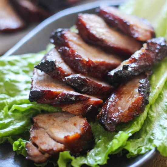 Learn how to make finger-licking roasted Chinese barbecue pork at home to share with your family and friends anytime!