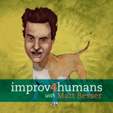I do improv and a coworker told me about this podcast done by Matt Besser from UCB.  He and a couple guests will take a suggestion via Twitter and hilarious, made up on the spot, scenes ensue.