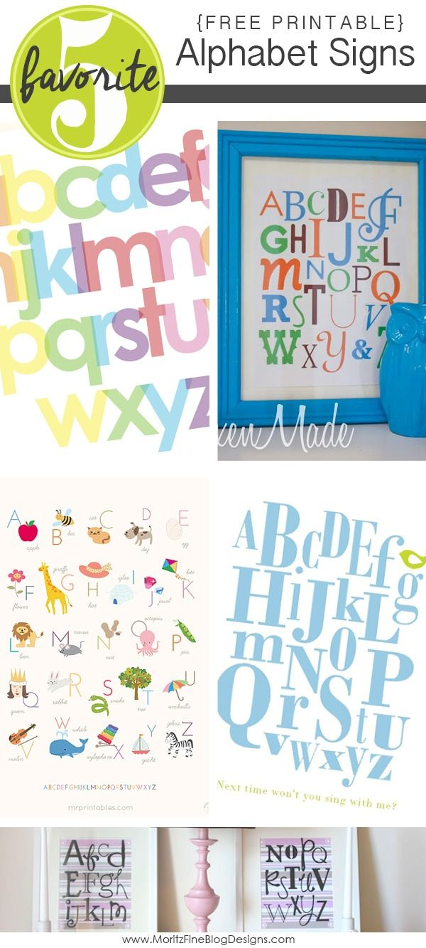 Alphabet And Alphabet Letters For Wall Kids Room Designtos Com - Adorable free printable alphabet signs perfect to decorate in your kid s rooms or bathrooms