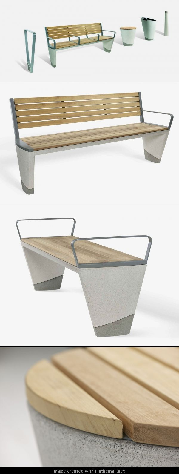 Durability Complimented by Refinement: Coda Concrete Street Furniture Range - Great for Schools, Education Projects. www.woodhouse.co.uk/loci/