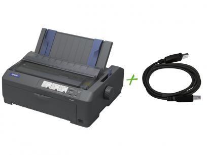 Impressora Epson FX-890 Matricial - USB + Cabo USB AM/BM com as melhores condições você encontra no Magazine Sprecious. Confira!