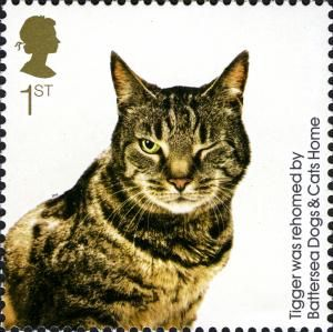 Postage stamp - Great Britain, 2010 [150th Anniversary of Battersea Dogs & Cats Home]