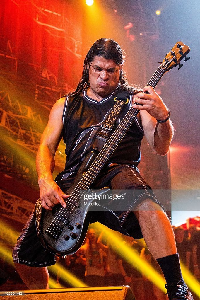 Robert Trujillo-Metallica.......