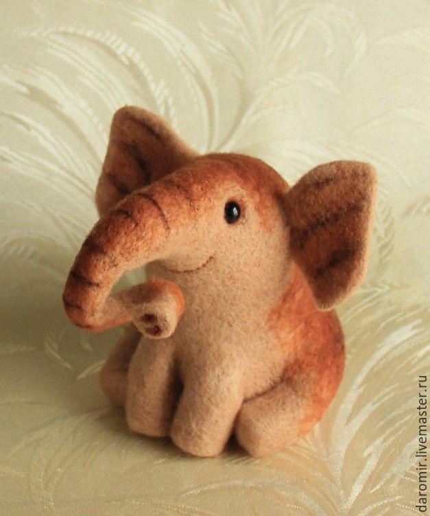 Купить Слон полосатый. - слон, слоник, слон в подарок, слон игрушка, слон редкий, слоненок
