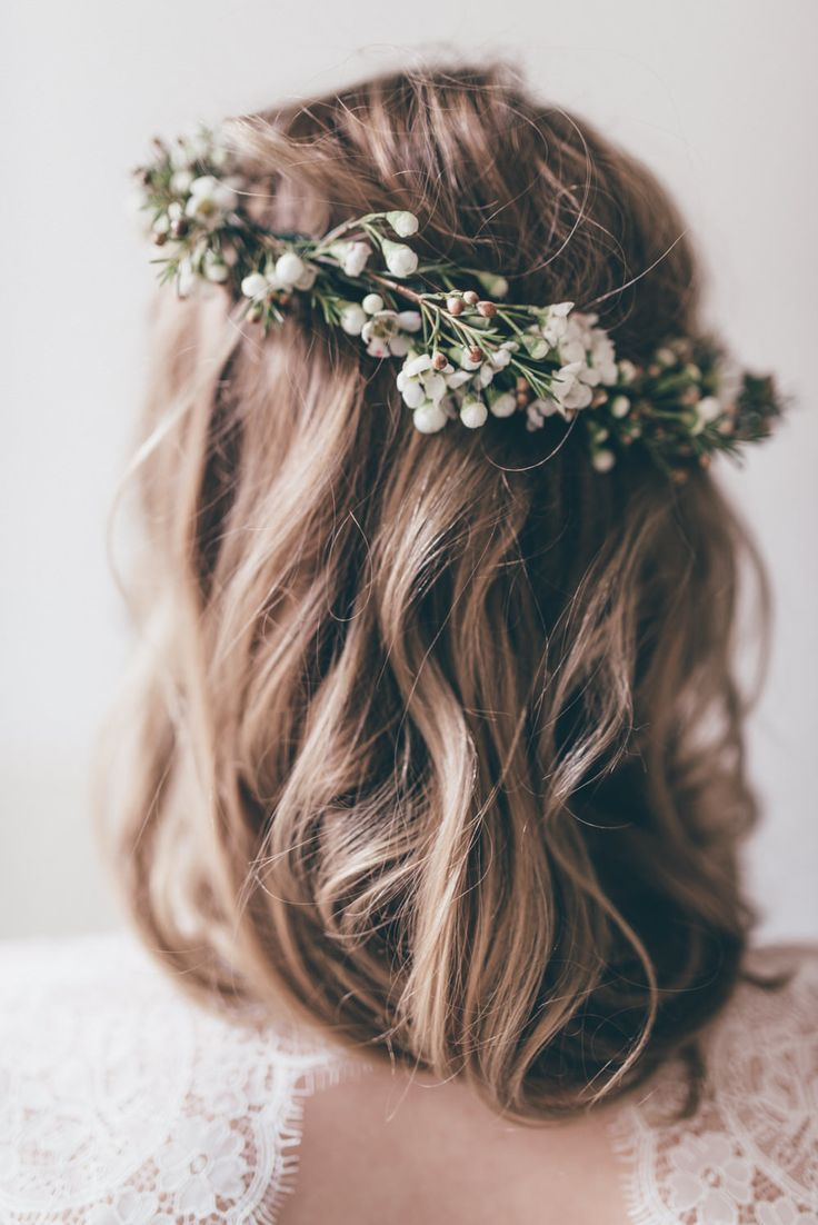 best 25+ wedding flower hair ideas on pinterest | bridal hair