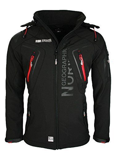 Geographical-Norway-Hommes-Molle-Fonctions-Veste-Dextrieur-impermable
