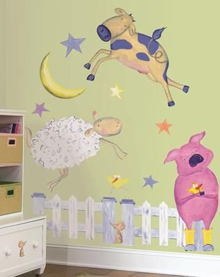 8 best Pig decor images on Pinterest | Piglets, Animal wall decals ...