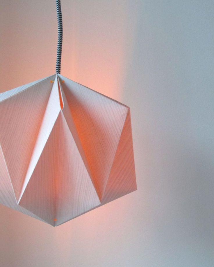 lampe diy suspension origami