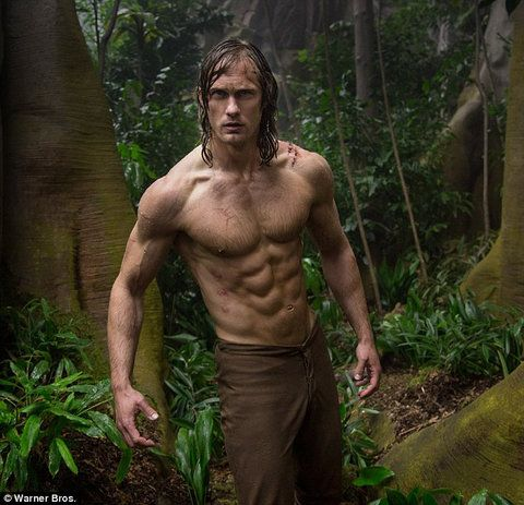TheLegend of Tarzanactor's body has arguably always been pretty incredible, but his gravity-defying six-pack for the anticipated live-action reboot is taking it to a whole new level with the latest promo photo from the film. from InStyle.com