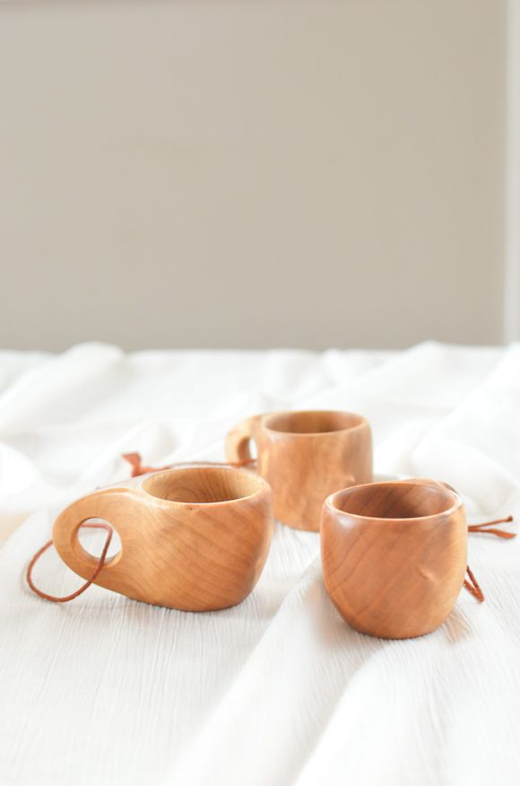 Kuksa wooden cups from www.pikkukota.com