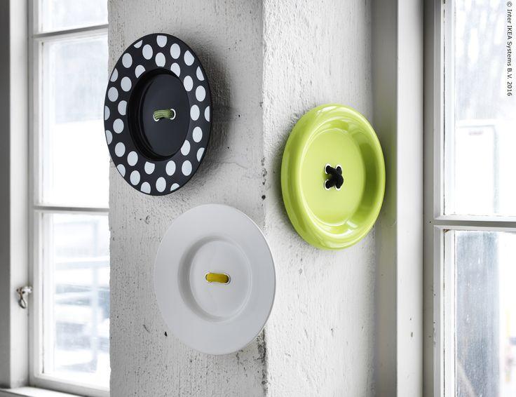 [POSLJEDNJI PUT U ROBNOJ KUĆI] Bijelim zidovima možeš dodati vedrinu GRÄDDIG ukrasima. :) Sniženi proizvodi dostupni su do isteka zaliha, a više o njima možeš pronaći na www.IKEA.hr/posljednji_put_u_robnoj_kuci.