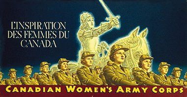 This image is a image of World War II propaganda that shows how women are starting to become more involved and are taking part in the war and are able to do the same work that a man can. This changed the lives of many women at the time of the great depression and World War II, as they started taking on new roles, escaping from traditions at the time. This is a credible source as it can also be found on www.airmuseum.ca, which is a professional, and legitimate Canadian source.