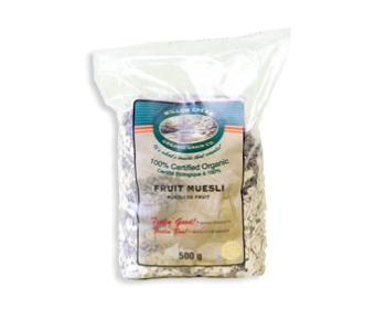 This is on my grocery list - looking forward to trying - Organic Fruit Muesli | SaskMade Marketplace  #SaskMade