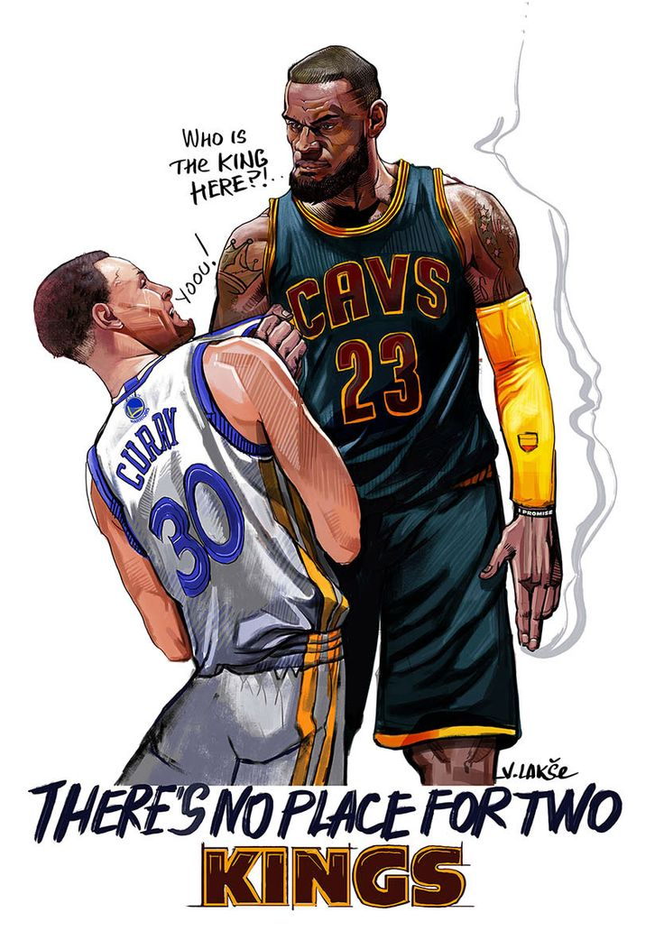 Bullying is a terrible thing. However in this application created by artist Vladislav Lakshe starring LeBron James and Stephen Curry, it's kinda hilarious.