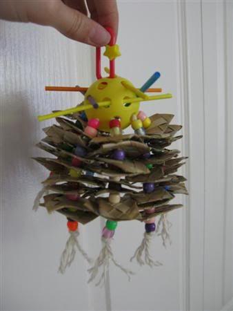 Home Made Bird Toys 44