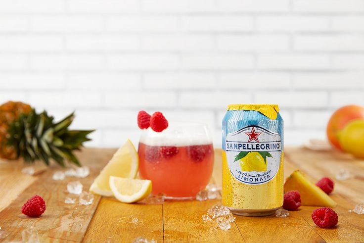 Saint Barthelemy is a Caribbean island's inspired cocktail that combines pineapple, grapefruit, grenadine and Sanpellegrino Limonata. Learn how to make it!
