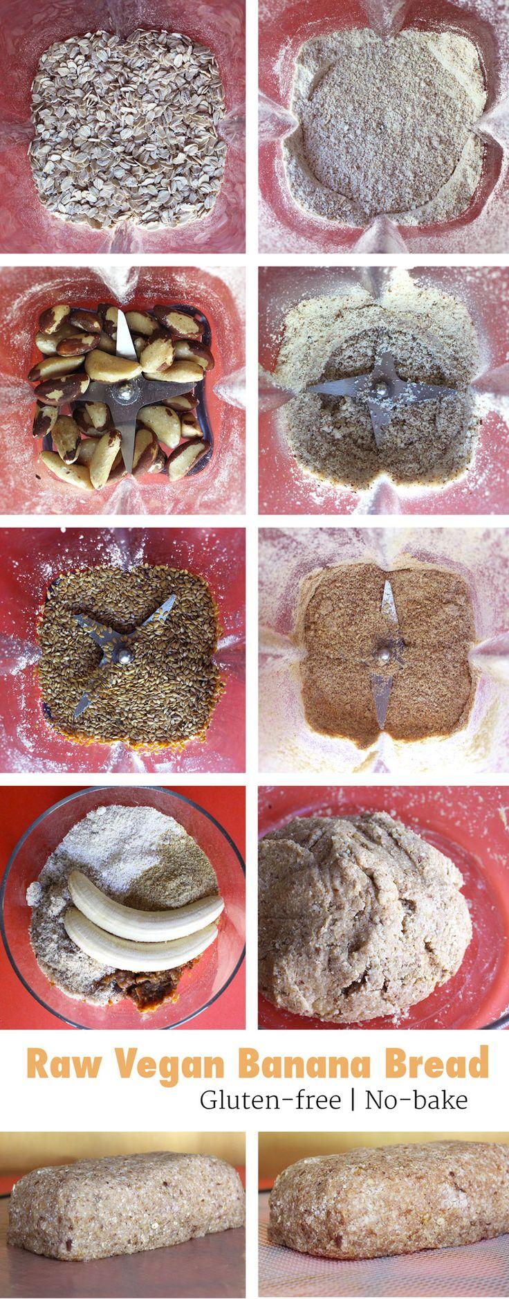 Wie roh vegan Bananenbrot machen