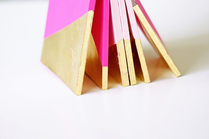 gold-dipped books