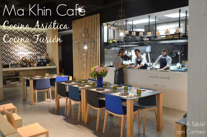 Ma Khin Café, Cocina Asiática, Cocina Fusión