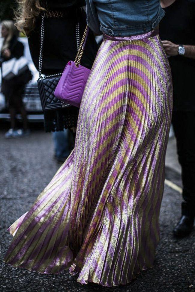 CHAPTER FRIDAY / skirt / metallic