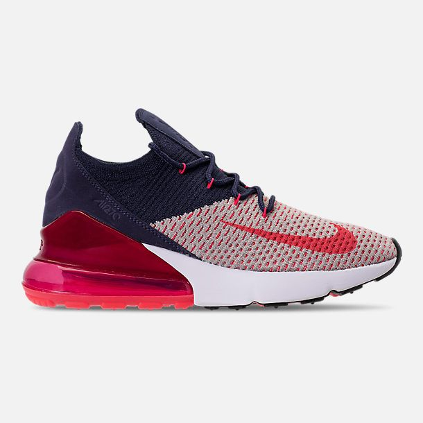 Right view of Women's Nike Air Max 270 Flyknit Casual Shoes