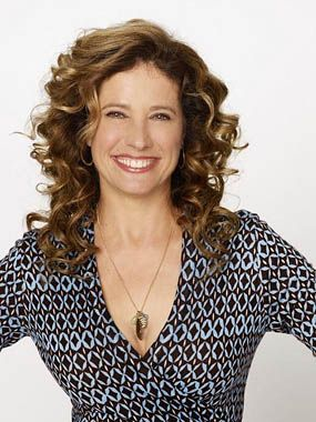 "Nancy Travis..""Last Man Standing"".  Love her curly hair!! I want curls too!!!!"