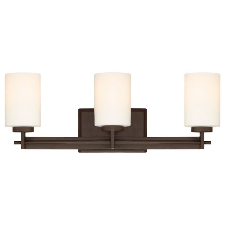 Shop quoizel taylor 3 light bathroom vanity light at lowes canada find our selection of bathroom vanity lighting at the lowest price guaranteed with price
