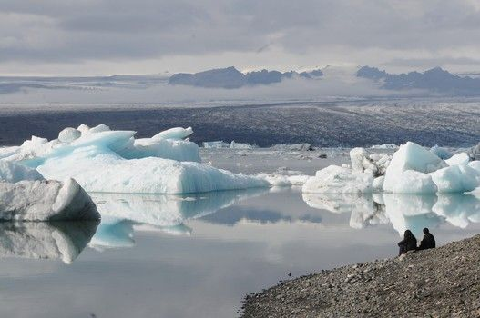 """Jokulsarlon, Iceland's glacial lagoon, is a spectacular sight, and the furthest point on a 14-hour long """"South Coast"""" bus tour. It is well worth the trip."""