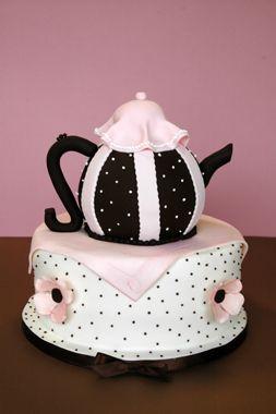 bridal tea cake idea | English Tea Party Bridal Shower - Gallery - A Piece O' Cake
