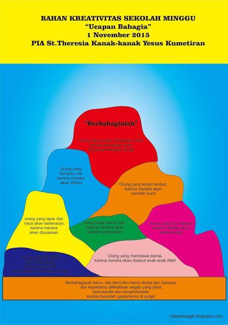 Catatan SiGal: Bahan Kreativitas Sekolah Minggu 1 November 2015 P...
