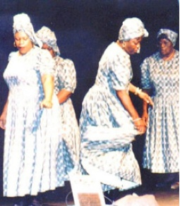 """A """"ring shout"""" is an enthusiastic religious ritual once performed by slaves living along the Georgia and South Carolina coast."""
