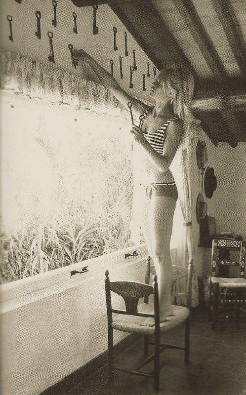Brigitte Bardot, 1965, La Madrague