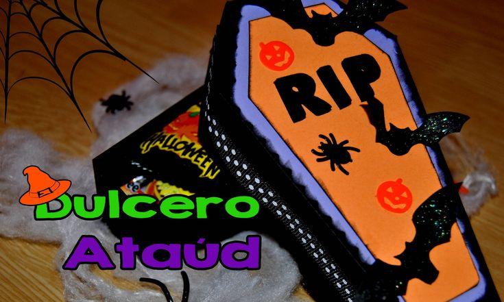 DIY : Dulcero Ataúd Halloween // Treat Box Halloween