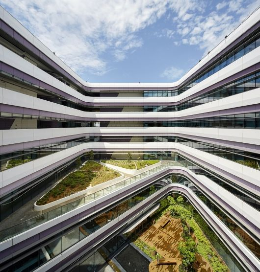 Singapore University of Technology & Design | UNStudio; Photo © Hufton+Crow | Bustler