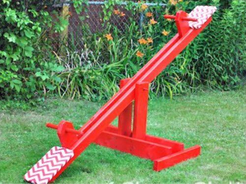 DIY Kid's Seesaw For Under $30 | http://homestead-and-survival.com/diy-kids-seesaw-for-under-30/ | Sometimes it just makes sense to build something yourself.