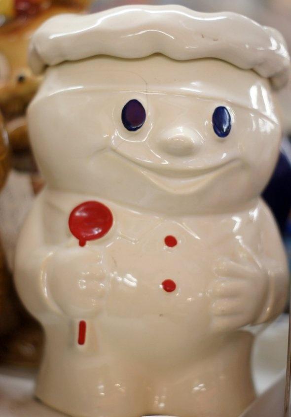 poppin dough boy - Pillsbury Dough Boy Halloween Cookies
