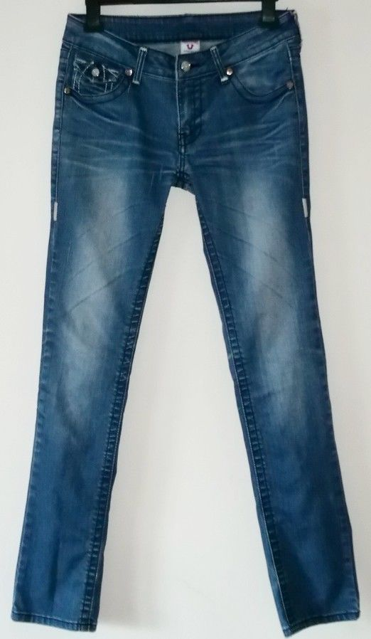 Women's TRUE RELIGION BILLY Denim Jeans Size 30 #TrueReligion