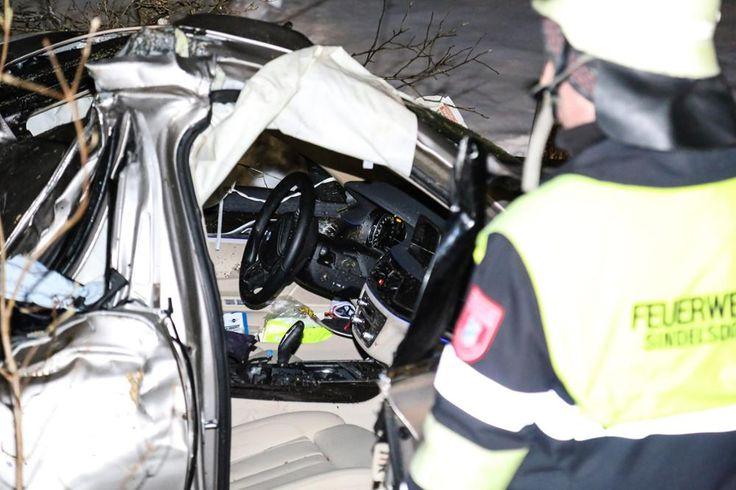 Unfall A95 Sindelsdorf